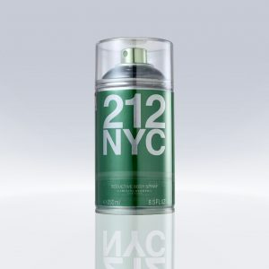 Desodorante Carolina Herrera 212 NYC Seductive – Body Spray Feminino 250ml