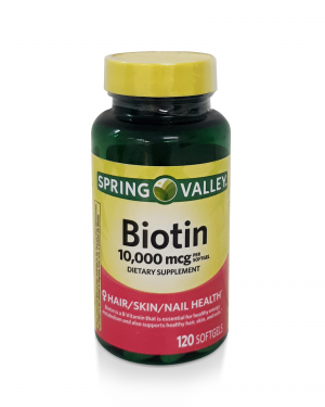 Biotina 10000 mcg Spring Valley – 120 SoftGel