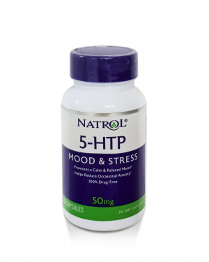 Natrol 5 HTP Mood e Stress – 50 mg 45caps
