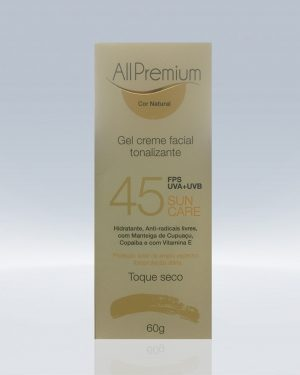 Sun Care FPS 45 Cor Natural – 60g ALLPREMIUM
