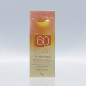 SUN CARE FPS 60 GEL CREME FACIAL TOQUE SECO- 60g – ALLPREMIUM