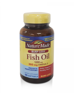 Fish Oil 1200 mg – Nature Made – 60 caps