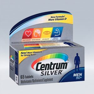 Centrum SILVER men +50 – 65 Caps .