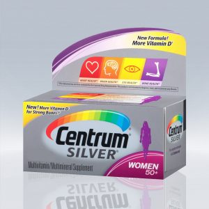 Centrum SILVER Women +50 – 100 caps