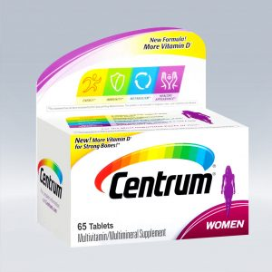 CENTRUM WOMEN 65 TABLETS